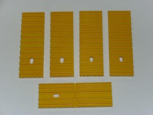 Fischertechnik 5 Stk Bodenplatte 30x90x7,5 gelb ft-Nr. 32861