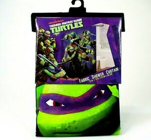 nickelodeon-TMNT-Ninja-Turtles-Fabric-Shower-Curtain-Kids-Bathroom-Decor-70-034-x72-034