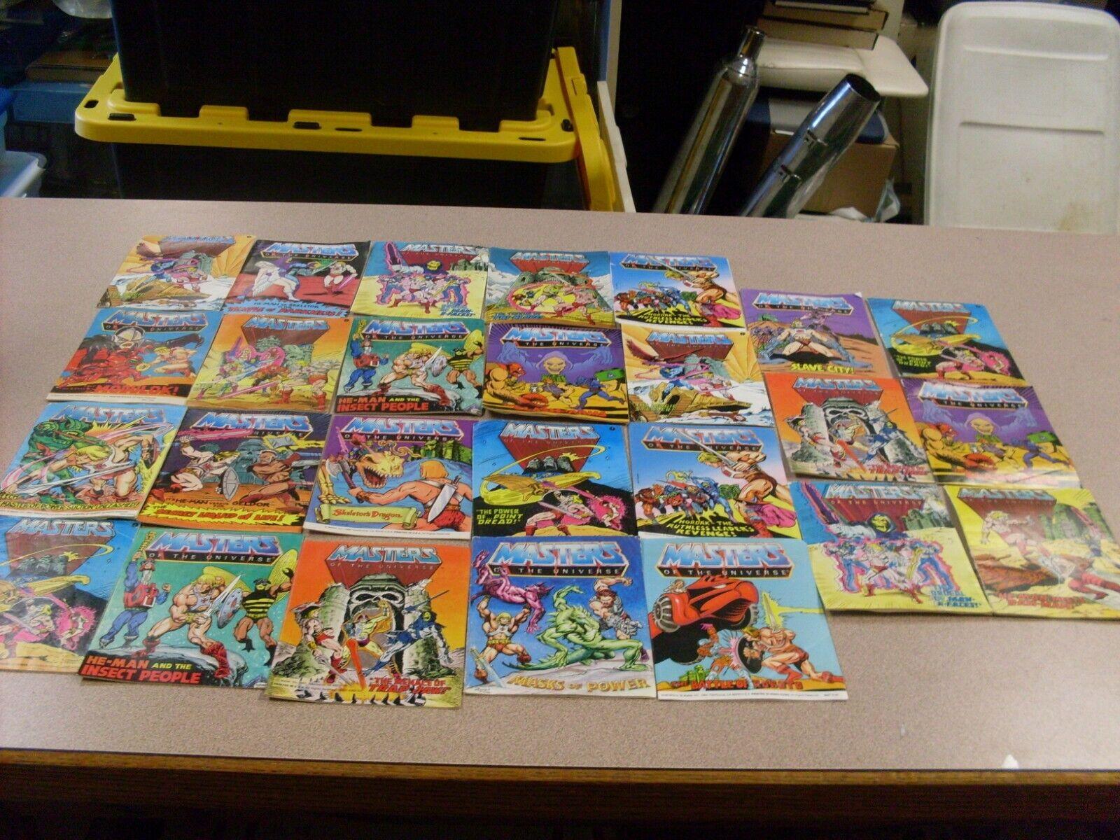 MOTU, He-uomo, Masters of the  Universe Mini Comic Lot of 26  sconti e altro