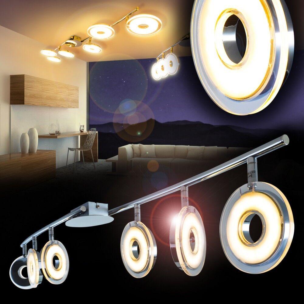 Plafonnier Design LED Lampe à suspension Chrome Luminaire de salon Lustre 139092
