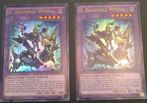 NM//M Yugioh El Shaddoll Winda DUEA-EN048 Ultra Rare 1st Edition