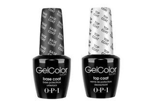 UV/LED OPI Gelcolor  TOP + BASE COAT 2  x 15ml