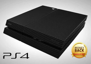 >> Playstation 4 Ps4 Carbon Skin Sticker Decal Wrap Vinyl