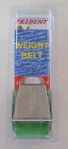 Scuba Diving Dive Weight Belt 58in Equipment S/s Green WB26