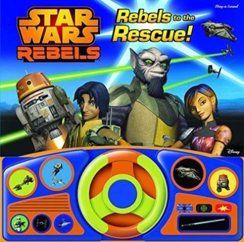 1 of 1 - Star Wars Rebels (Steering Wheel Sound Book), Disney, New Book