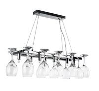 Kitchen Ceiling Light Adjustable Suspension 12 Wine Glass Holder (no Glasses)