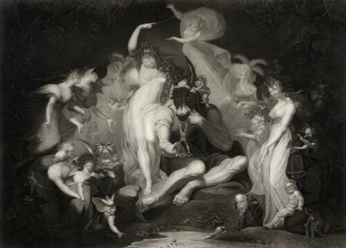 A Midsummer Night/'s Dream 1796 Henri Fuseli William Shakespeare Poster