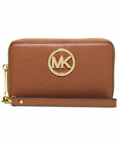 1851855f6b6f Image is loading Michael-Kors-Fulton-Large-Flat-Multifunction-Phone-Case-
