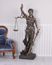 Riesige Skulptur Göttin Justitia Figur Anwaltskanzlei 175cm Antike Mythologie
