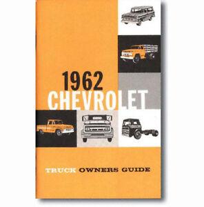 1962 chevy truck owners manual ebay rh ebay com 1970 Chevy Truck Wiring Diagram 1979 Chevy Truck Wiring Diagram