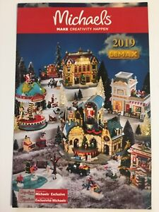 NEW for 2019 Lemax CHRISTMAS HOLIDAY VILLAGE Michael's ...