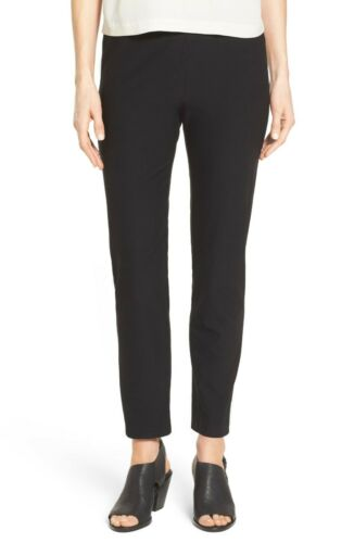 Eileen Fisher Stretch Crepe Slim Ankle Pants Size