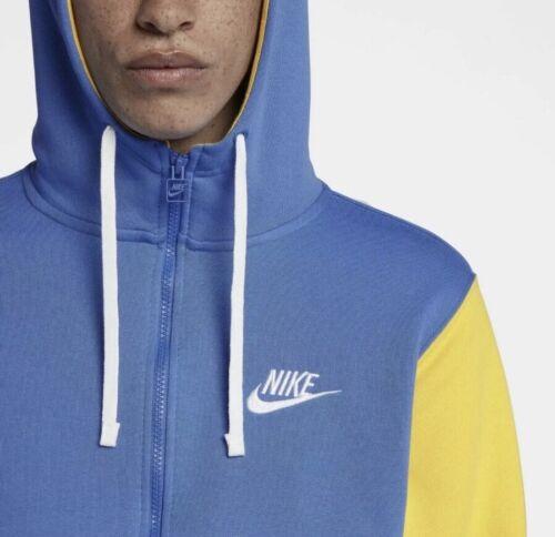 xl av3624 403 con amarillo azul Nike tama Sportswear Sudadera cremallera Archive completa o PxvpqTw