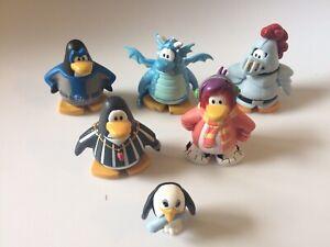6 Disney Club Penguin Figures Collectibles Toys Ebay