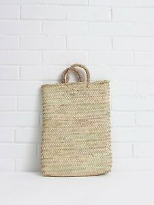 de de français main d'achats panier de sac de de marché Sac plat paille à vacances rectangulaire plage ta1FqxnPzw