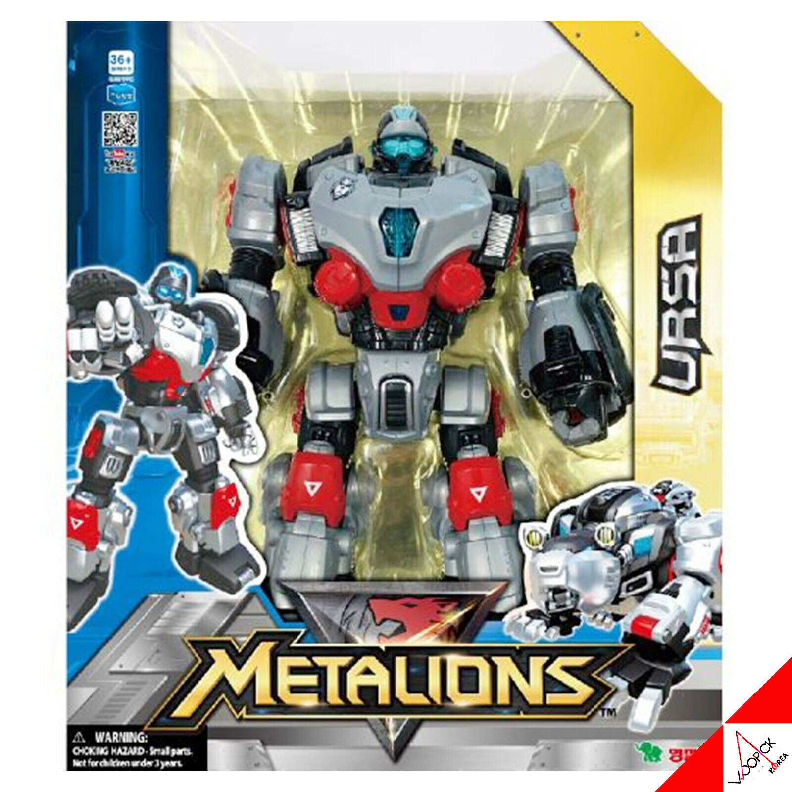 METALIONS URSA(Big Dimensione) Intergration Transformer Animal Bear Robot Figure Toy