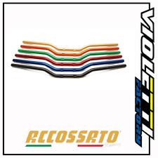 Accossato Manubrio Street Racing in alluminio HB174 piega media* BLU