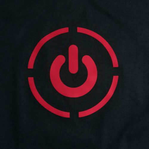 Details about  /No Power Red Button Icon Xbox Gadget Battery T-Shirt