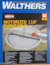 "Walthers HO #933-2851 Motorized 110' Turntable -- Assembled - 16-7/16"" 41.7cm"