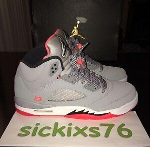 online store b1c32 fff42 Details about DS Nike AIR JORDAN 5 RETRO GG 'Hot Lava' Sz 9Y/WMNS 10.5/EUR  42.5 [440892 018] V