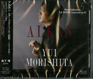 YUI-MORISHITA-ALKAN-PIANO-COLLECTION-5-LA-VISION-ESQUISSES-OP-63-JAPAN-CD-G35