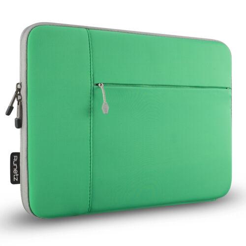 """Runetz Sleeve for MacBook Pro 15 inch Laptop 15.4/"""" Neoprene Cover Case GREEN"""