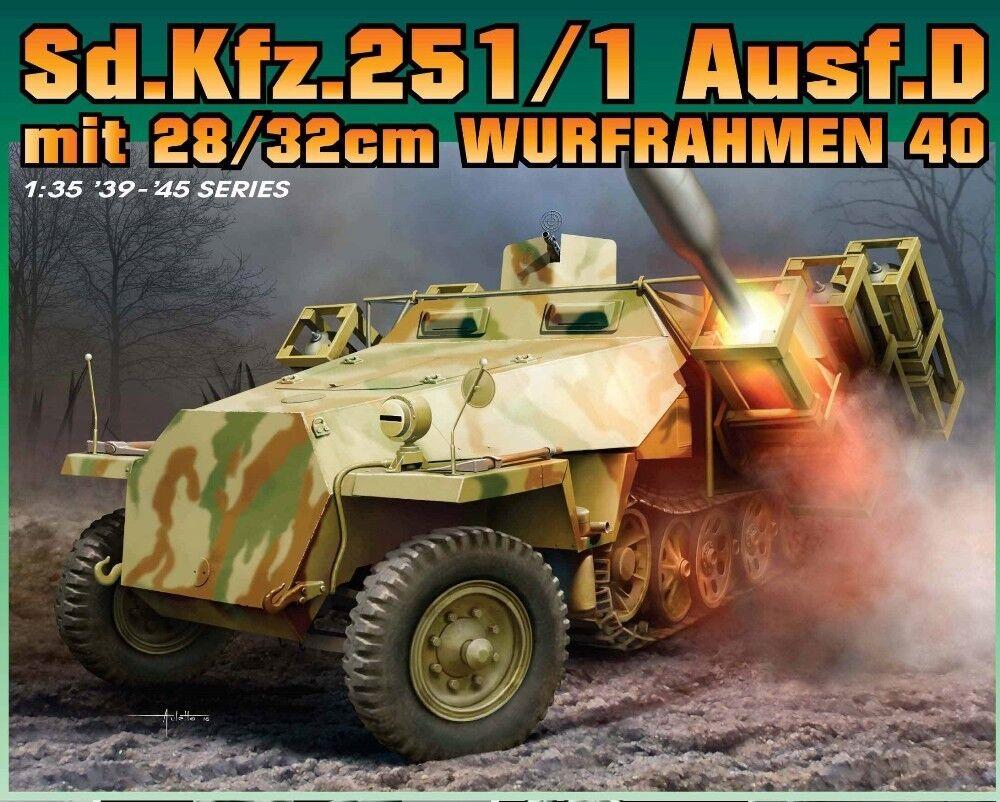 drake 6861 Sd.Kfz.251 Stuka zu Fu