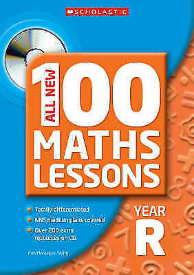 (Good)-All New 100 Maths Lessons, Reception (Paperback)-Montague-Smith, Ann-0439
