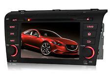 Car DVD Radio GPS Navigation Bluetooth For Mazda 3 2004 2005 2006 2007 2008 2009