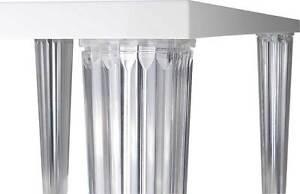 Acryl Plexiglas Tisch Esstisch Schreibtisch Konferenztisch Lack Weiß
