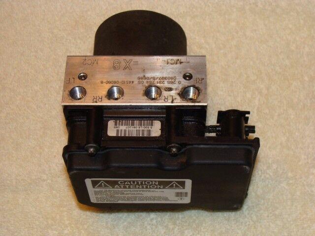 07 08 09 Toyota Camry Abs Anti Lock Brake Pump Module 44510 06060 33130 X8