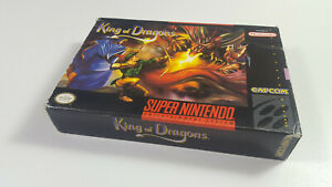 The-King-of-the-Dragons-Super-Nintendo-SNES-NTSC-Genuine-Box-ONLY-VGC-Collector