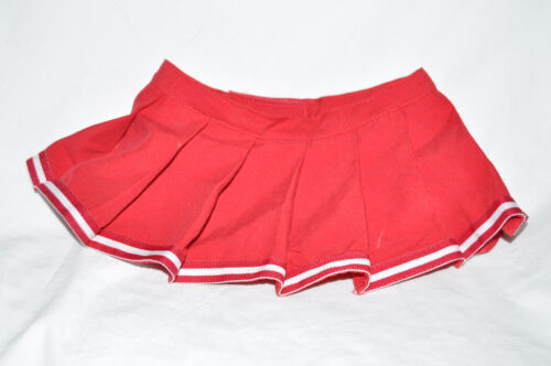 Build a Bear Red Cheer Leading Skirt