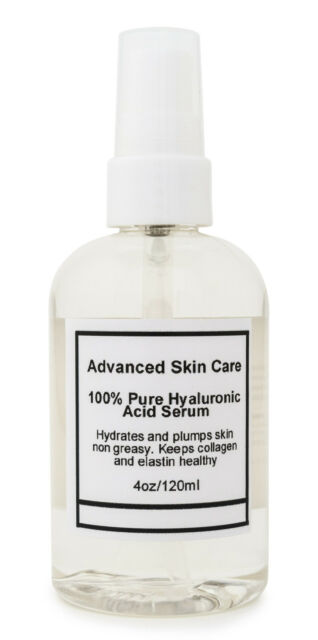 100%  PURE HYALURONIC ACID SERUM Firming Collagen 2oz or 4oz pump you chose