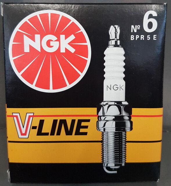4X NGK V-Line 6 BPR5E Bujías 7281#