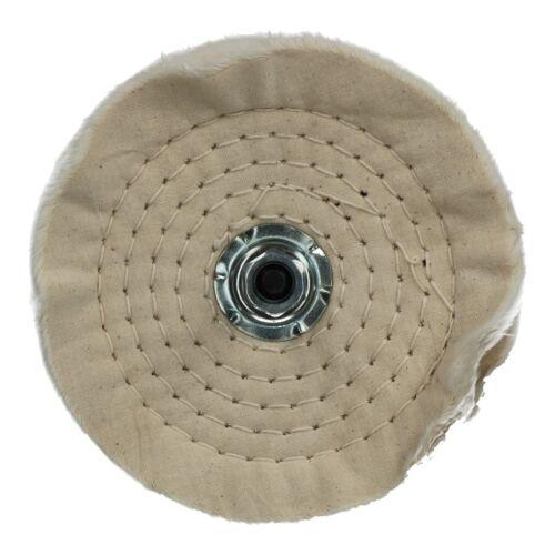 """6/"""" 150 mm Doux Polissage Polissage Mop Nettoyage Roue Avec 6 Mm Broche perceuse utiliser"""