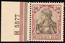 Deutsches Reich 50 Pfg. Mi. 76  Germania 1902 m. HAN-Nr. ** KW Mi. 1000 €  (c372