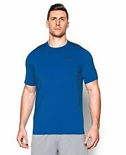 Free Postage - Small - Blue Under Armour Men's Short Sleeve Training T-Shirt