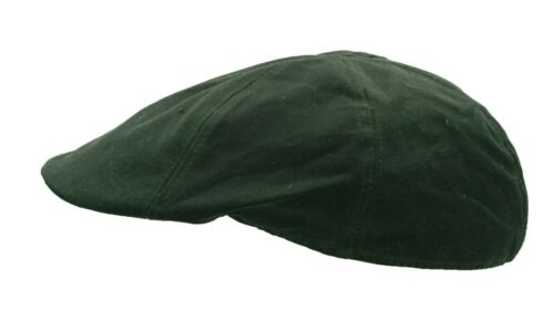 Uni-Sex Wax Duckbill Cap Country Waxed Hat Olive Brown Navy Walker /& Hawkes