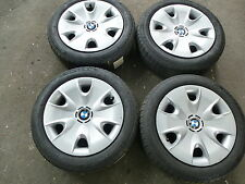 4 Stahlfelgen BMW 1er E87 6762645 6x16 ET37 5x120 Winterräder 185 60 16 HKW23