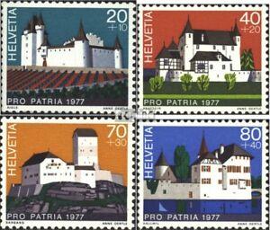 Schweiz-1096-1099-kompl-Ausg-gestempelt-1977-Pro-Patria