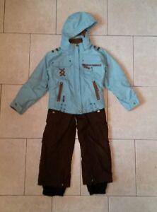 e3a42cc61870 EUC OBERMEYER ski snow board suit matched jacket pants insul8ed ...