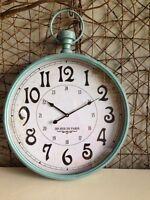 Heaven Sends Duck Egg Blue Wall Clock