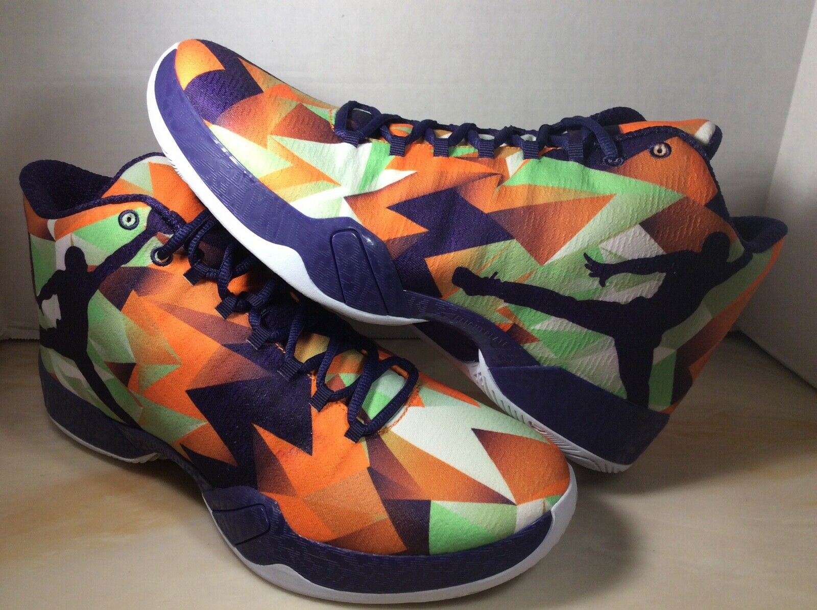 1d8f313ec2bd Air Jordan XX9 29 Hare bugs bunny men shoe size 12 mandarin purple 695515- 805