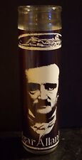 EDGAR ALLAN POE Raven Author Poet Prayer Altar Church Candle 120 Hours Allen