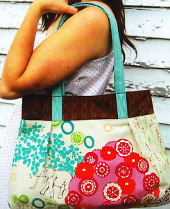 PATTERN-The-Vera-Bag-great-tote-bag-PATTERN-Green-Bee