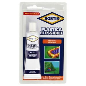 Colla plastica flessibile bostik 50 gr resistente acqua for Adesivi per piscine