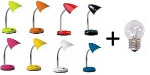 Flexible-Desk-Lamp-Office-Study-Reading-Lamp-Table-Bedside-8-Colours-Free-Bulb
