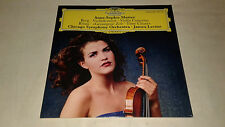 Anne Sophie Mutter, Berg Violin Concerto Rihm Time, 180 Gram LP.  New & Sealed