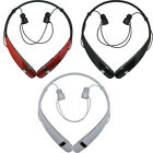 LG Tone Pro LBT-760 Wireless Bluetooth Neckband Headset Black - White - Red